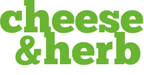 Cheese and herb logo
