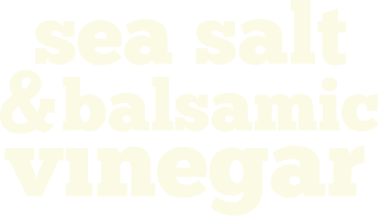 Sea salt & Balsamic logo
